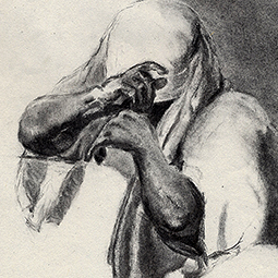 <strong>&quot;The old traveller&quot;</strong><br>&quot;The old traveller&quot; sketch<br />