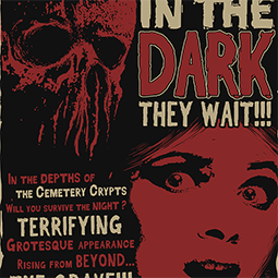<strong>&quot;In the Dark They Wait&quot; Illustration</strong><br>Inspired by my love for horror movie and their unmatched poster and cover artworks. <br />